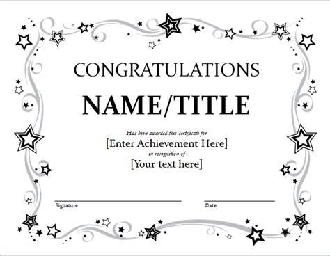 congratulations certificate templates congratulation certificate template for word document hub