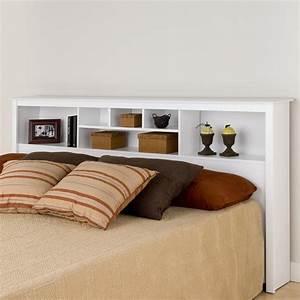 Prepac Sonoma King Storage Headboard By OJ Commerce WSH