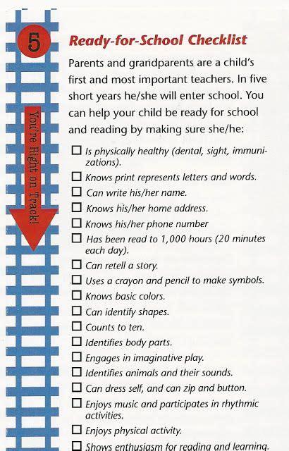 kindergarten readiness checklist 967 | ac4d9fda76d0a678e59bf5e780669124