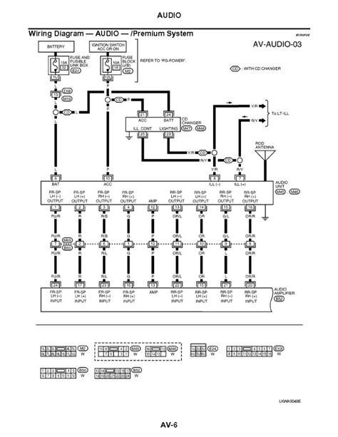 2012 Nissan Maxima Bose Wiring by 2012 Altima Bose Wiring Diagram Decor