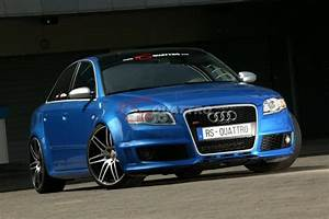 Audi RS4 B7 Sprint Blue RSQUATTRO