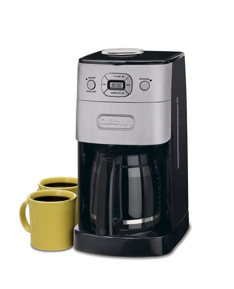 Using a simple blade grinder that works very well. Cuisinart Grind and Brew Coffee Maker - Best Coffee Machines
