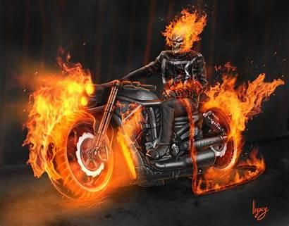 Rider Ghost Bike Wallpapers Artwork Artstation Legacy
