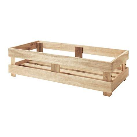 Kleine Einmachgläser Ikea by Ikea Skogsta Box Stabil Robust Und Daher Gut Geeignet