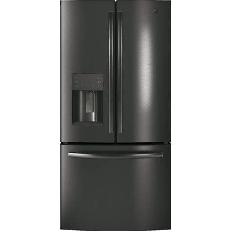 refrigerator door counter depth gye18jblts ge 33 quot 17 5 cu ft counter depth door