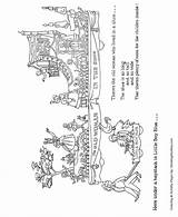 Parade Coloring Sheet Honkingdonkey Floats Macy Sheets Meaning Children sketch template