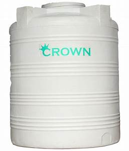 Buy Crown White Lldpe Plastic Triple Layer Water Tank For ...