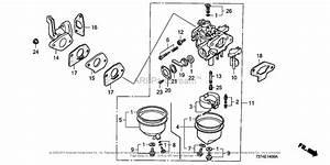 Honda F210k1 A Rototiller  Jpn  Vin  F210