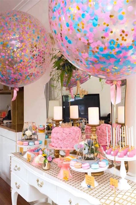 karas party ideas pink  gold princess birthday party