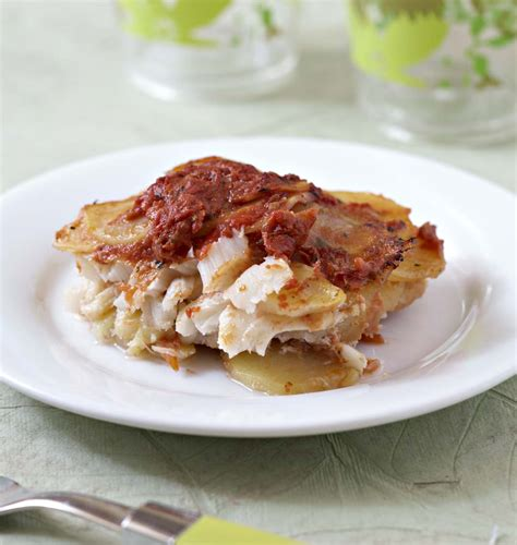 morue cuisine gratin de morue et pommes de terre à la tomate les