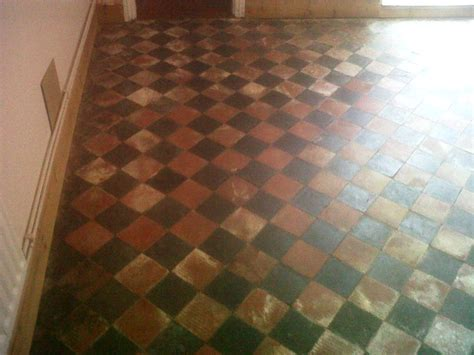 red and black victorian quarry tile   Quarry Tiled Floors
