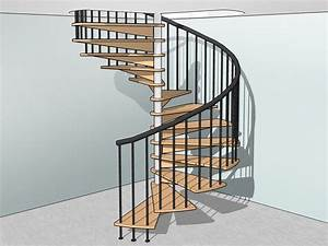 How, To, Build, Spiral, Stairs, 15, Steps, With, Pictures