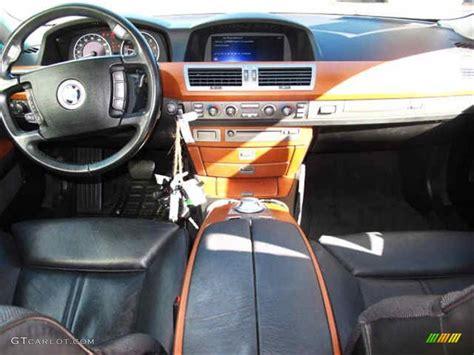 black interior  bmw  series li sedan photo