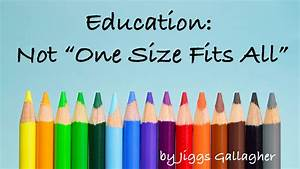 One Fits All Matratze : education is not one size fits all adventist today ~ Michelbontemps.com Haus und Dekorationen