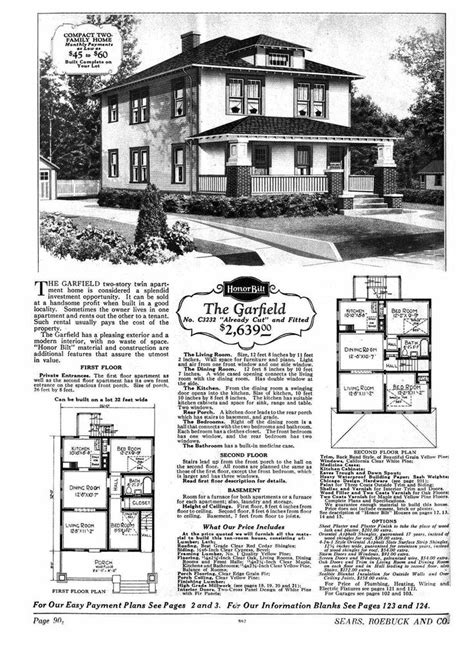 sears house  garfield model  p