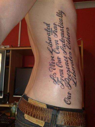 inspirational tattoo quotes  sayings quotesgram
