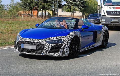 Audi R8 2020 by 2020 Audi R8 Spyder