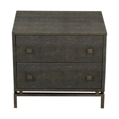 Cb2 Nightstand by 69 Cb2 Cb2 Shagreen Embossed Nightstand Tables