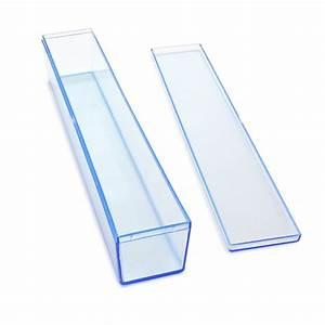 Maple Craft - Invitation Rectangular Clear Plastic Boxes 8