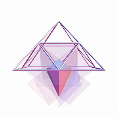 Pyramid Diamond Triangular Initiation Shape Sides Space