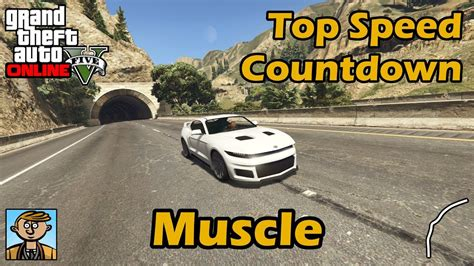 fastest muscle cars  gta   fully upgraded
