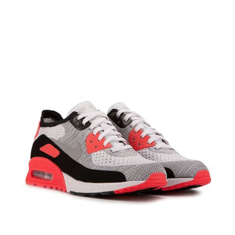 Nike Airmax 9 0 nike wmns air max 90 ultra 2 0 flyknit infrared 881109 100