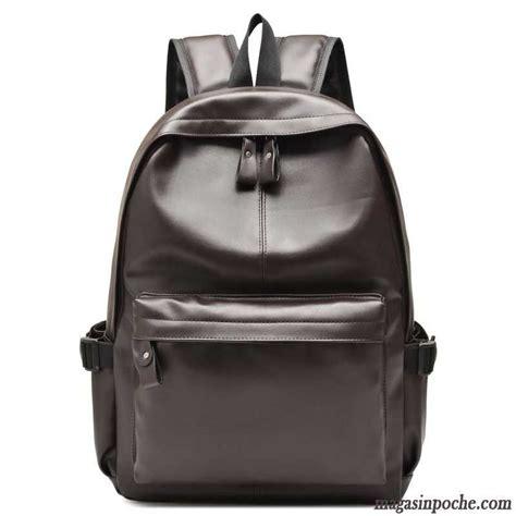 sac bureau homme sac a dos en cuir noir homme sac a dos en simili cuir de