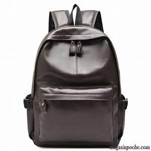 Sac Ordinateur Cuir Homme : sac a dos en cuir noir homme sac a dos en simili cuir de ~ Nature-et-papiers.com Idées de Décoration