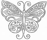 Butterfly Embroidery Hand Pattern Patterns Crafts Coloring Designs Applique Drawing Fan Antique Butterflies Template Print Transfers Templates Pages Freebie Vtns sketch template