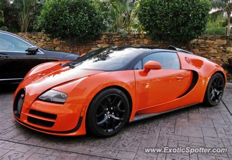 Bugatti In Miami by Bugatti Veyron Spotted In Miami Florida On 12 05 2012