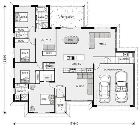 house pla wide bay 230 home designs in new south wales g j