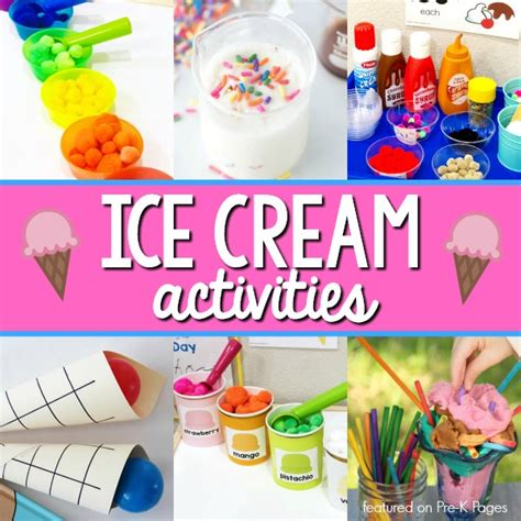 theme activities for preschool pre k pages 743 | Ice Cream Activities for Preschoolers