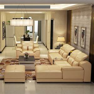2014, New, Dubai, Furniture, Sectional, Luxury, And, Modern, Corner, Leather, Living, Room, Arab, L, Shaped