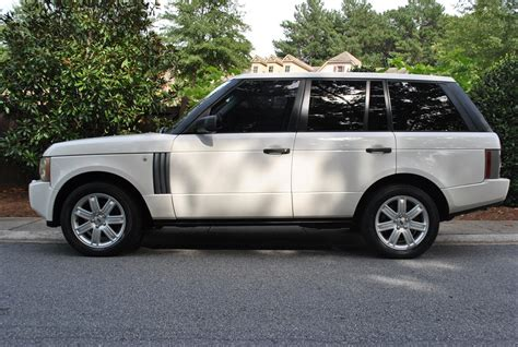 land rover hse white 2006 land rover range rover hse 108221 miles white 4d