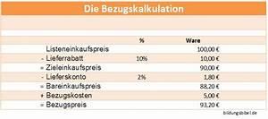 Ablöse Gastronomie Berechnen : bezugskalkulation lernen bezugspreis berechnen bungen und beispiel ~ Themetempest.com Abrechnung