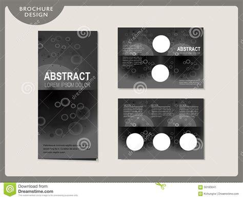 Simplicity Tri Fold Brochure Template Design Stock Vector Simplicity Tri Fold Template Design Stock Vector Image