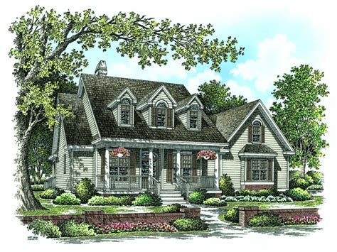 Brick Cape Cod House Plans Red Cape Cod House, Cape Cod