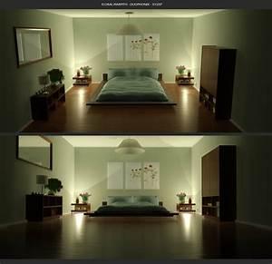 Green, Color, Bedrooms, Interior, Design, Ideas