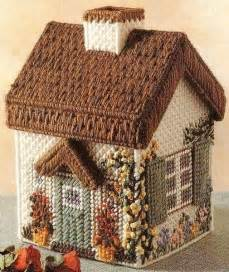 Free Plastic Canvas House Patterns