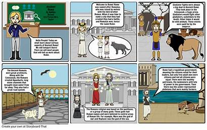 Storyboard Rome Ancient Storyboards Slide