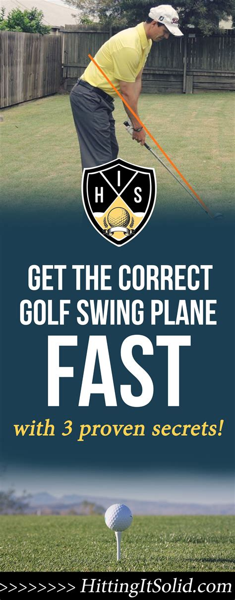 Correct Golf Swing by Correct Golf Swing Plane 3 Secrets That 90 Of Golfers