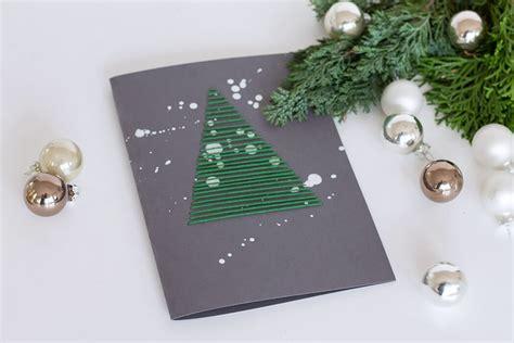 weihnachtskarten zum selber machen karte besticken weihnachtskarten selber machen