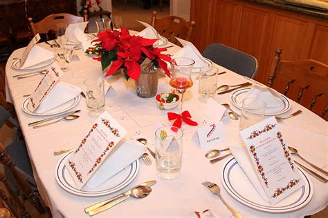 italian christmas table decorations phi alpha theta history department french christmas dinner