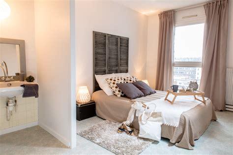 home staging chambre appartement villeurbanne contemporain chambre lyon
