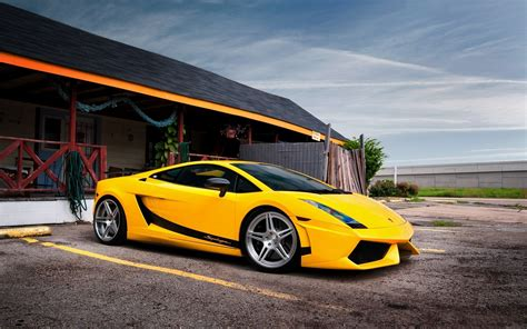 Black And Yellow Exotic Cars Wallpaper 19 Background