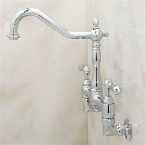 Wall Mounted Kitchen Faucet With Sprayer by Inspirations Beautiful Wall Mount Faucet With Sprayer For