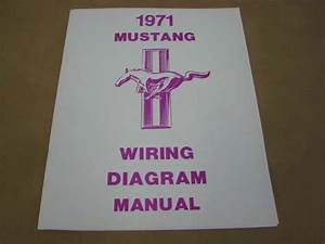 Mlt Wd71 Wiring Diagram For 1971 Ford Mustang  Mltwd71