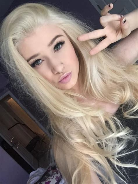 courtney dickerson images  pinterest blondes hair goals  tumblr