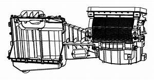 2011 Jeep Wrangler Housing  Blower Motor  Evaporator