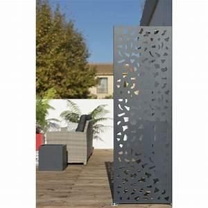 Panneau Décoratif Extérieur : panneau barri re palissade claustra panneau bois ~ Premium-room.com Idées de Décoration